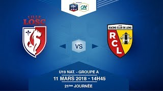 U19 NATIONAL - LOSC Lille / RC Lens - Dimanche 11 Mars à 14h45