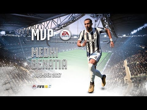 Medhi Benatia wins November MVP powered by EA Sports