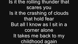Iron Maiden - Lightning Strikes Twice Lyrics