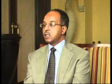 the former Minister of Foreign Affairs of Somalia Mohamed Abdullahi Omar