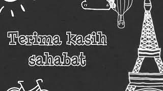 Gambar cover Lirik lagu sedih/Terima kasih sahabat spesial animasi