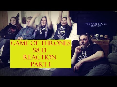 Game of Thrones S8 E1 Reaction Part 1 'Winterfell'