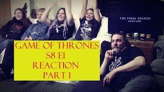Game of Thrones S8 E1 Reaction Part 1