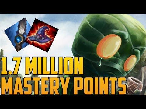 Platinum Full AP AMUMU 1,700,000 MASTERY POINTS- Spectate Highest Mastery Points on Amumu
