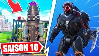 THE SECRET SKIN OF SEASON 10 IS THE ... (IN CONSTRUCTION FUSEE) SECRET FORTNITE