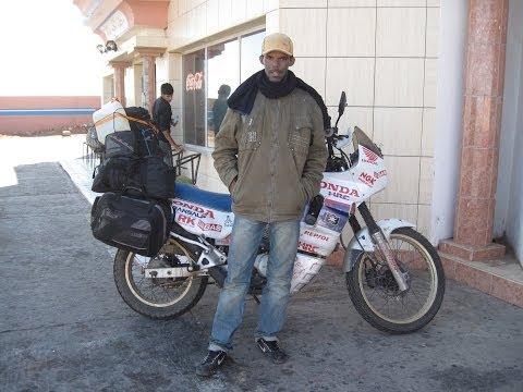 [Slow TV] Motorcycle Ride - Morocco - Western Sahara - On the way to Dakhla