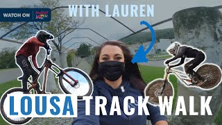 Lousa Track Walk with Lauren