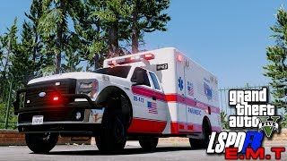 "GTA5 LSPDFR Day-130 ""EMS Patrol"""