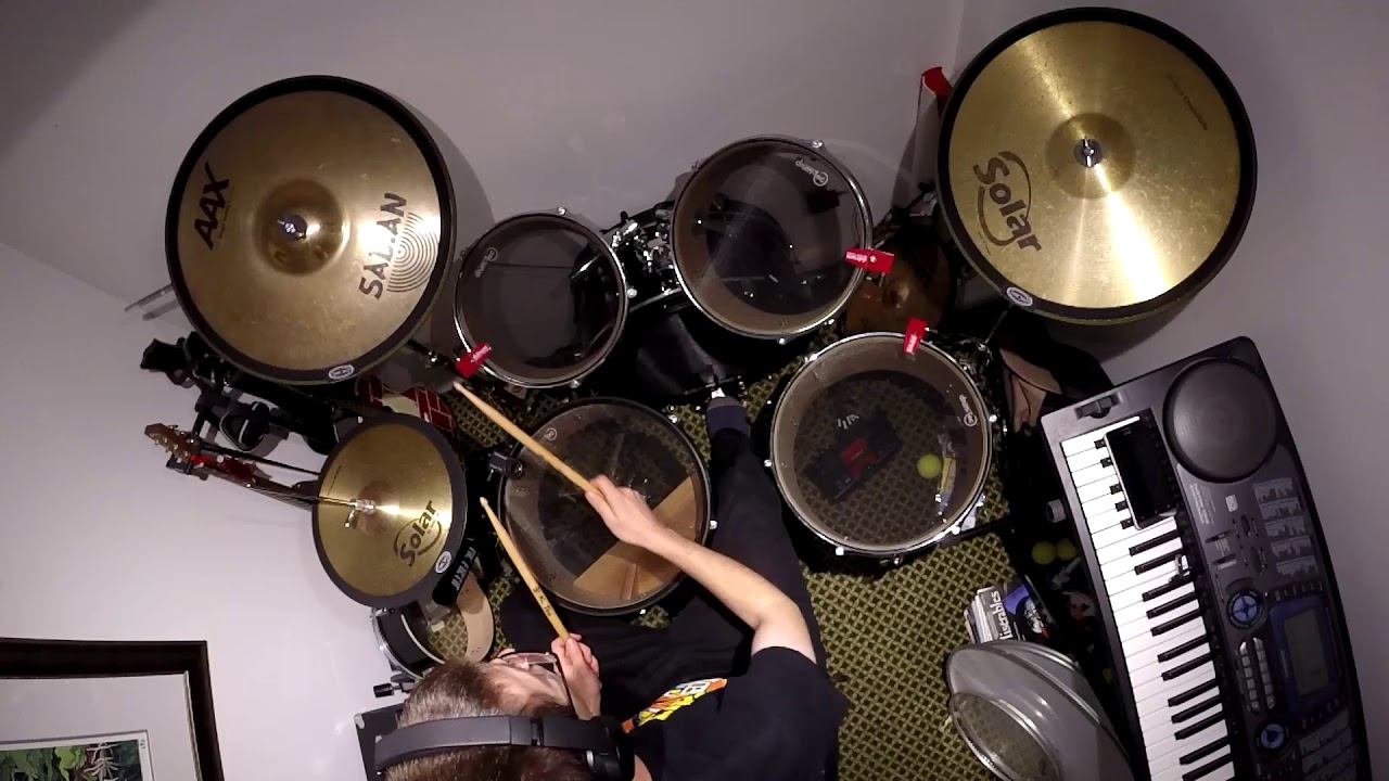 Quiet Drum Set Build And Acoustic Test Drum Tec Ddrum Cymbomute