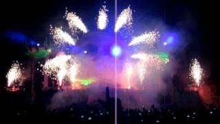 Q-Base 2010 Midnight Show Open Air Strip PyroShow