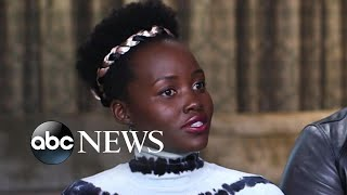 'Us' stars Lupita Nyong'o, Winston Duke and director Jordan Peele discuss its meaning