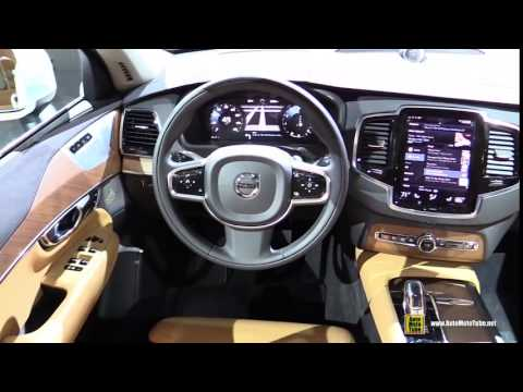 2017 Volvo Xc90 T8 Plug In Hybrid Inscription Exterior And Interior Walkaround Detroi
