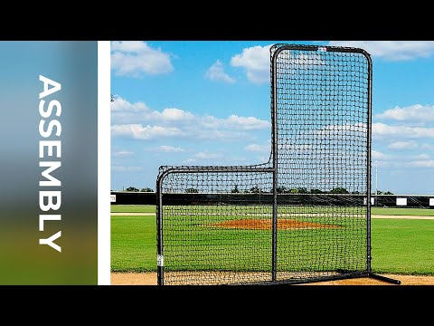 How To: Assemble FORTRESS Baseball L-Screen | Net World Sports