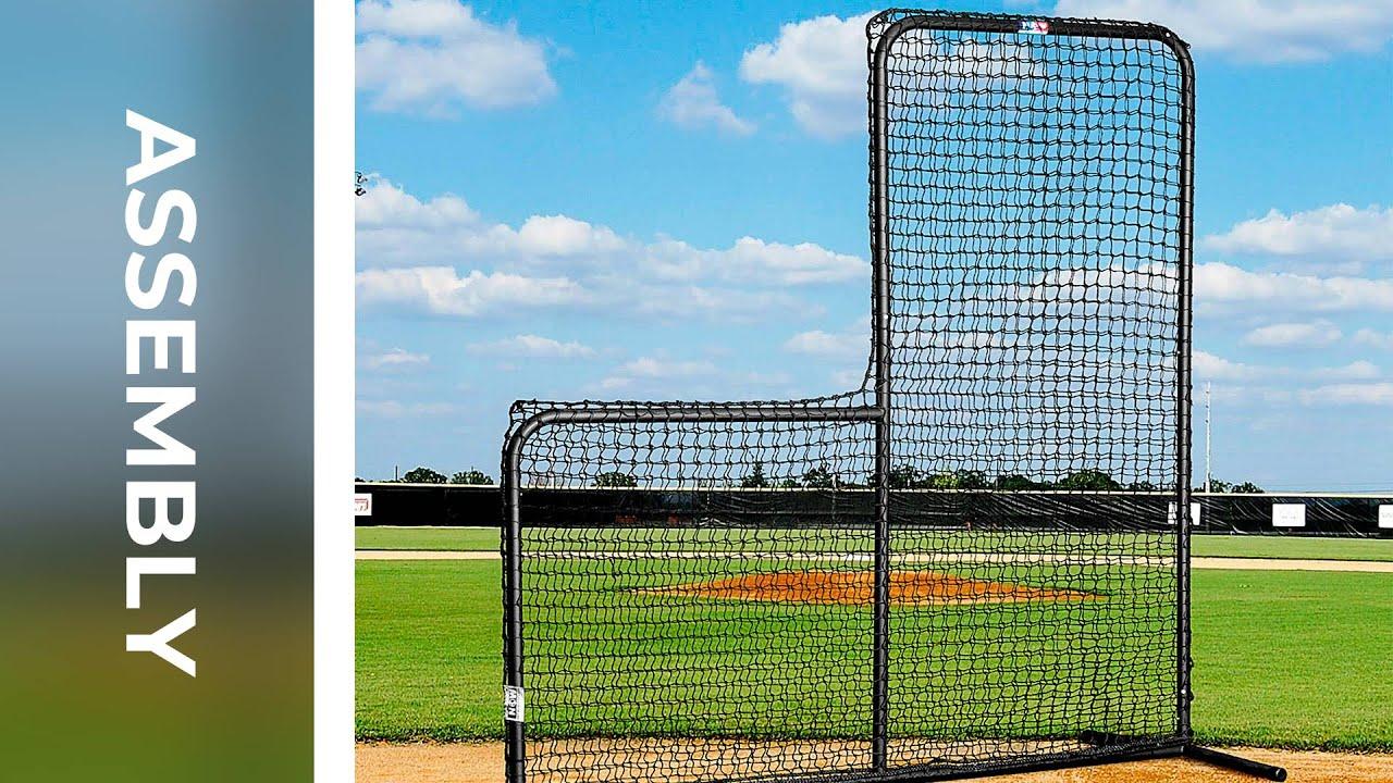 How To Assemble Fortress Baseball L Screen Net World Sports Youtube