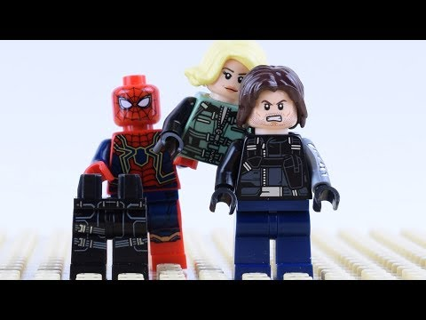 Wrong Brick Bodies with LEGO Superheroes Spider Man Animation