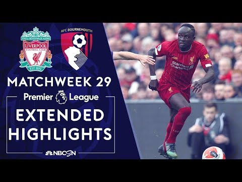 Liverpool v. Bournemouth | PREMIER LEAGUE HIGHLIGHTS | 3/7/2020 | NBC Sports