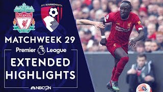 Liverpool v. Bournemouth | PREMIER LEAGUE HIGHLIGHTS | 3/7/2020 | NBC Sports