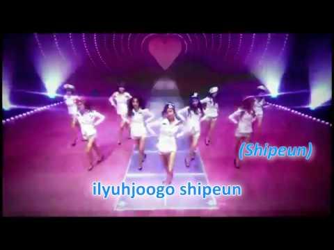 Girls' Generation |Genie| (karaoke)