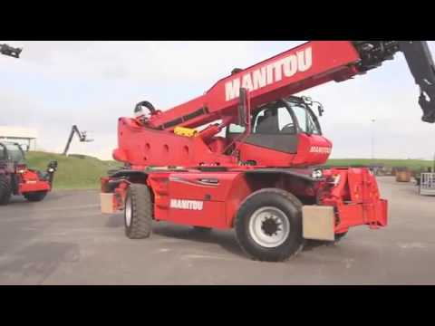 Телескопический погрузчик Manitou MRT 3255