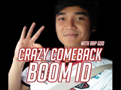 [GG MOMENT] BOOM ID CRAZY COMEBACK with Caster RAP GOD - IGC 2017