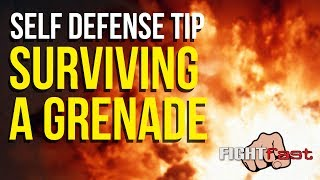 Survive an Improvised Explosive Device/Hand Grenade - Self Defense
