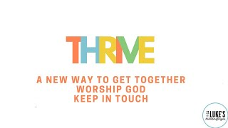 16-August 2020 Thrive (last one until October)
