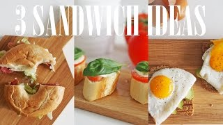 Reb's Kitchen: 3 Quick&healthy Sandwich Ideas!