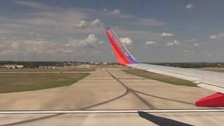 Southwest Airlines takeoff at San Antonio, TX