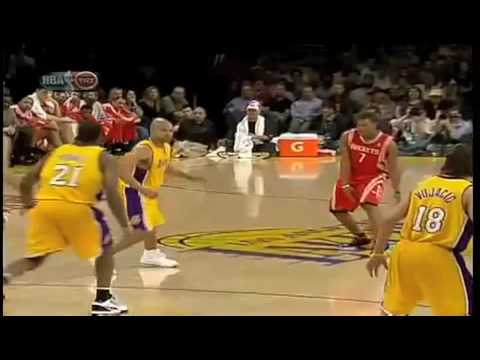 Derek Fisher Elbows Luis Scola - Remix