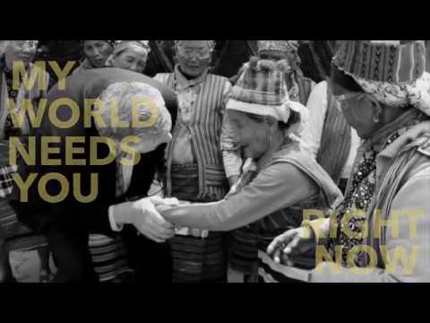 My World Needs You-Lyric Video