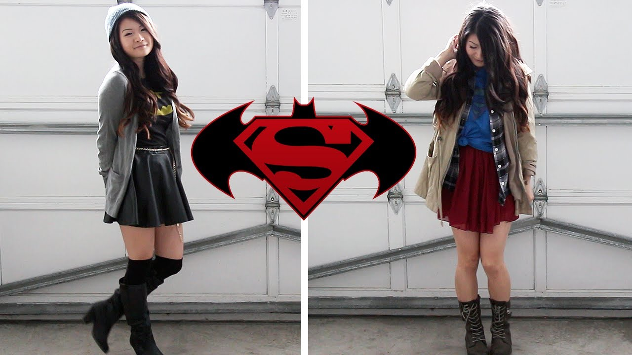 Casual DC Comics Inspired Halloween Outfits (Batman, Superman) ft ...