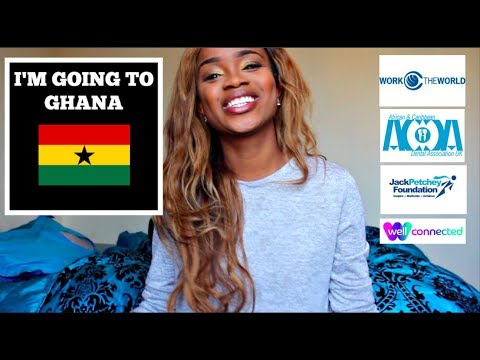 I'M GOING TO GHANA || DENTAL PROJECT
