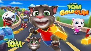THE TALKING TOM GOLD RUN WITH THE HOME BUILDING - 3 HOMES BUILD