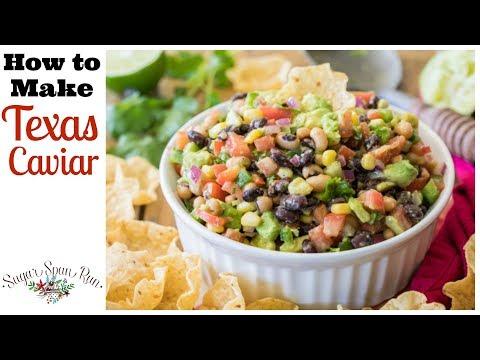 How to Make Texas Caviar (Cowboy Caviar)