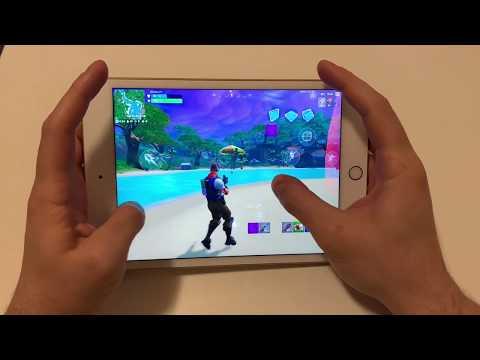 FORTNITE MOBILE IOS New IPad Mini 5 2019 - HIGH + 60 FPS
