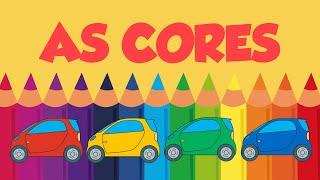 Aprendendo as cores com carros coloridos