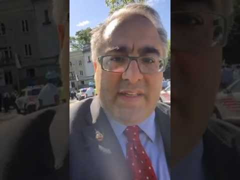 Aram Hamparian's recording of the attack