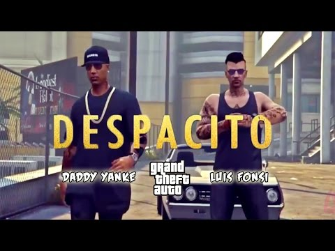 Despacito - Luis Fonsi (ft. Daddy Yankee) EPIC GTA V Online VIDEO CLIP (Cover)