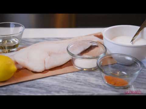 Healthy and easy recipe for recovery: Turmeric fish