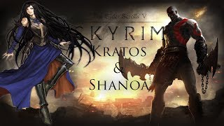 Weekly Skyrim Mods: Kratos Race,Weapons/Armor and Shanoa Armor