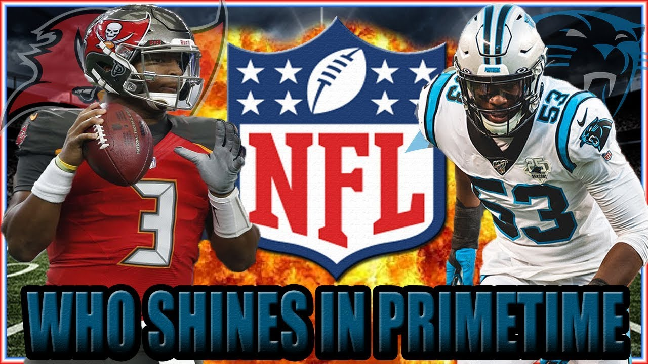 NFL Thursday Night Football Schedule: Where to Watch Tampa Bay Buccaneers vs. Carolina Panthers, TV Channel ...