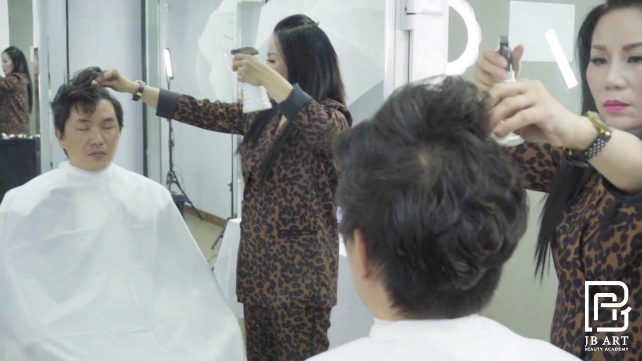 Uốn tóc nam Hàn Quốc | Dạy cắt tóc nam chuyên nghiệp tại tphcm