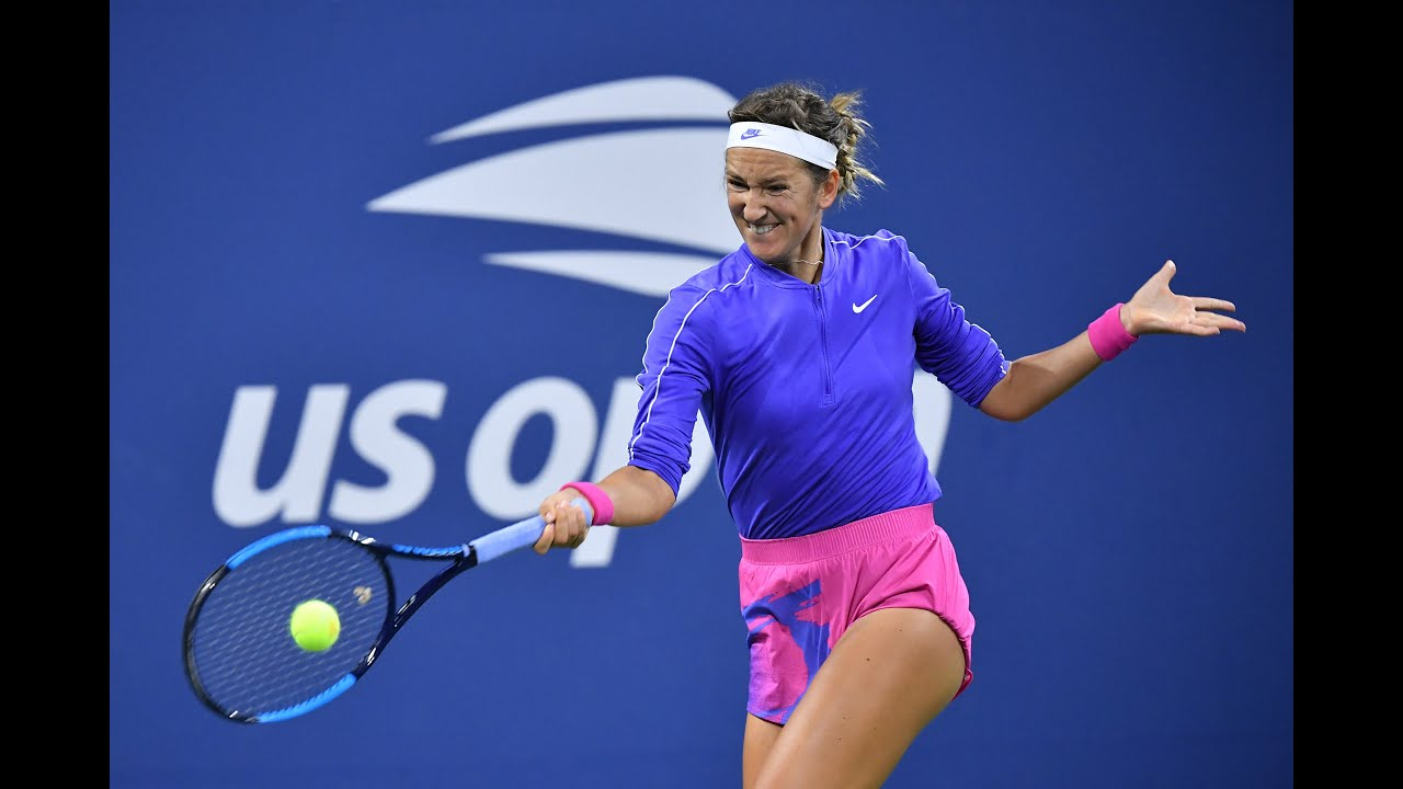 Way to go, Vika – win it for us grunters