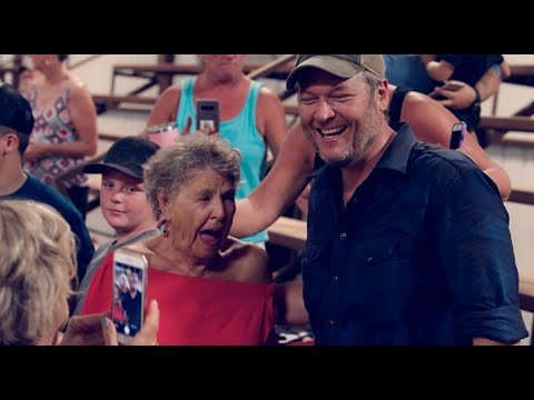 Rick and Kim - Behind the scenes with Blake Shelton!