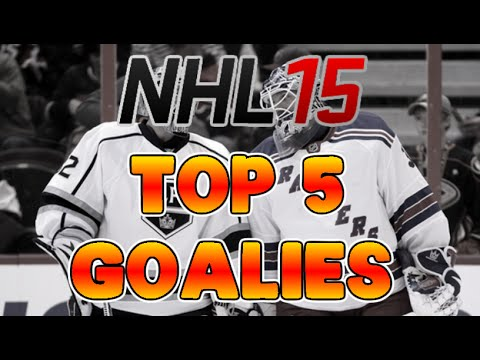 NHL 15 TOP 5 GOALIES REVIEW