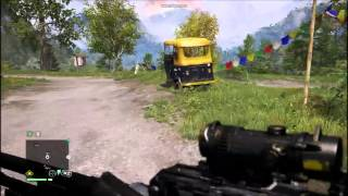 Far Cry 4 PC   Low Settings   Gameplay on Nvidia GT 740m 2GB and i7 4702mq