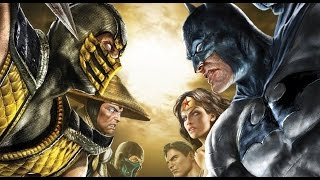 Mortal Kombat vs DC Universe All Cutscenes Game Movie 1080p HD