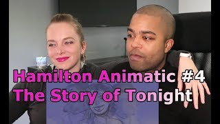 """4. Hamilton Animatic - """"The Story of Tonight"""" (Jane and JV BLIND REACTION 🎵)"""