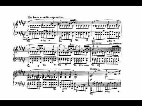 Chopin - Prelude Op. 28 No. 13 In F Sharp Major (Cortot)