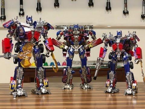 Optimus Prime: Black Mamba vs Weijiang vs Legendary Toys ...